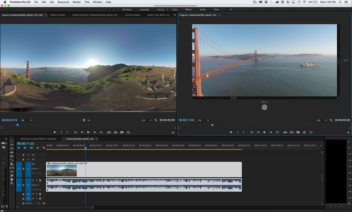New @AdobePremiere #VR mode makes editing 360 footage faster with @NVIDIA GPUs. Read more: https://t.co/yFcBciqyyF https://t.co/N9arYhHnqD