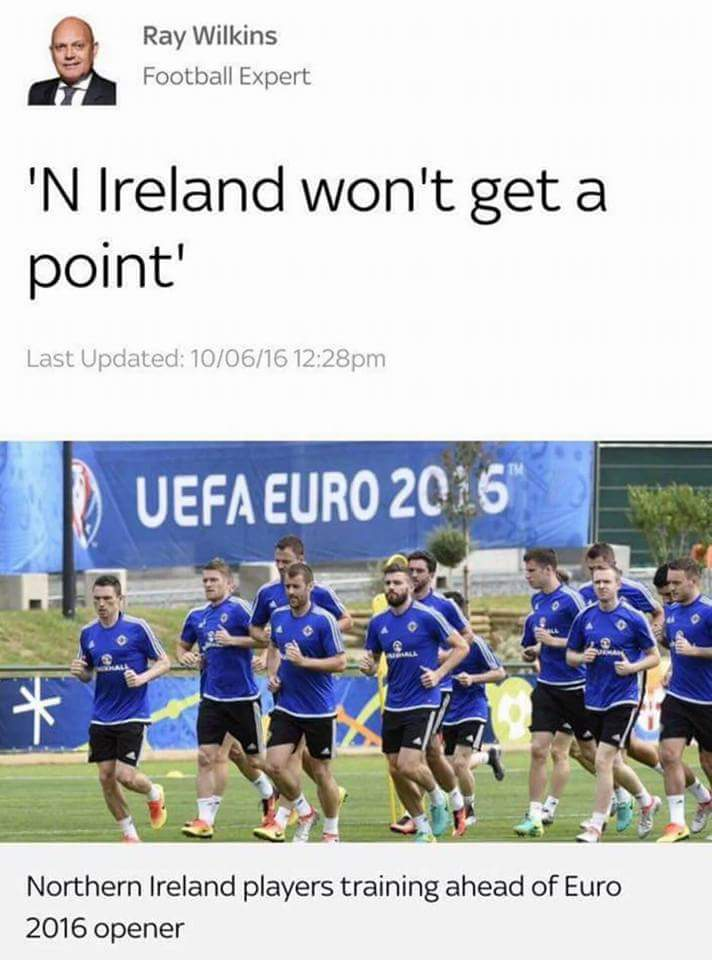 Football Expert?  I'd have a word lads