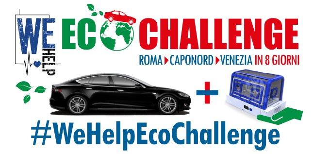 #WeHelpEcoChallenge  missione EcoSostenibile a servizio di una organizzazione Umanitaria https://t.co/OJeIduMa1F