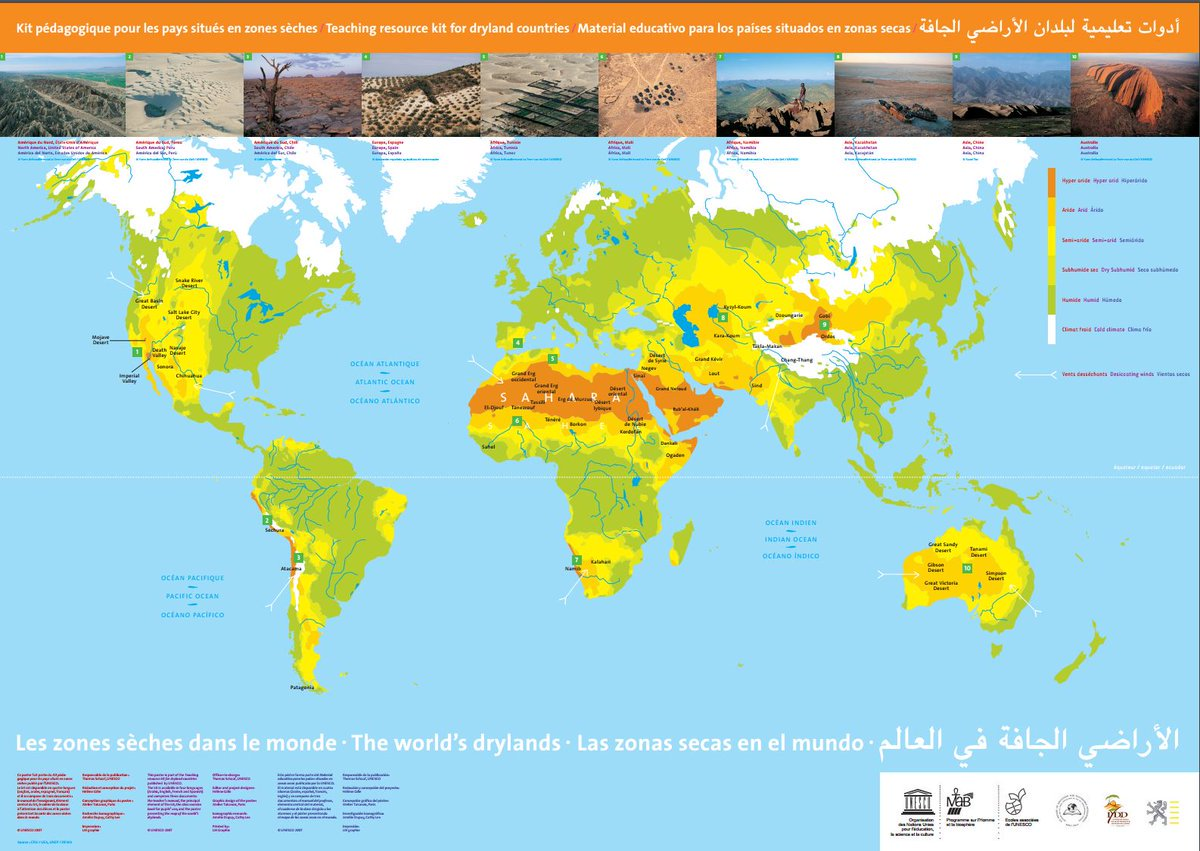 Un Library On Twitter Desertification Is A Global Phenomenon See
