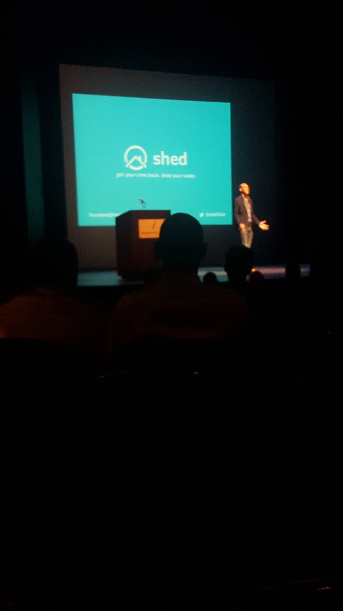 Listening to our @VenntureGarage / @VennCentre boys @AskShed pitch at @propelict's demo day! #propeldemoday https://t.co/hsoDOTMbld