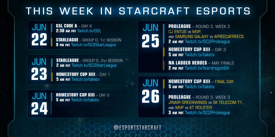 Starcraft Esports On Twitter Those Are Kst Pst Not Pdt Edt And Cet Start Times Since The Headers Are Cut Off Hopefully That Helps