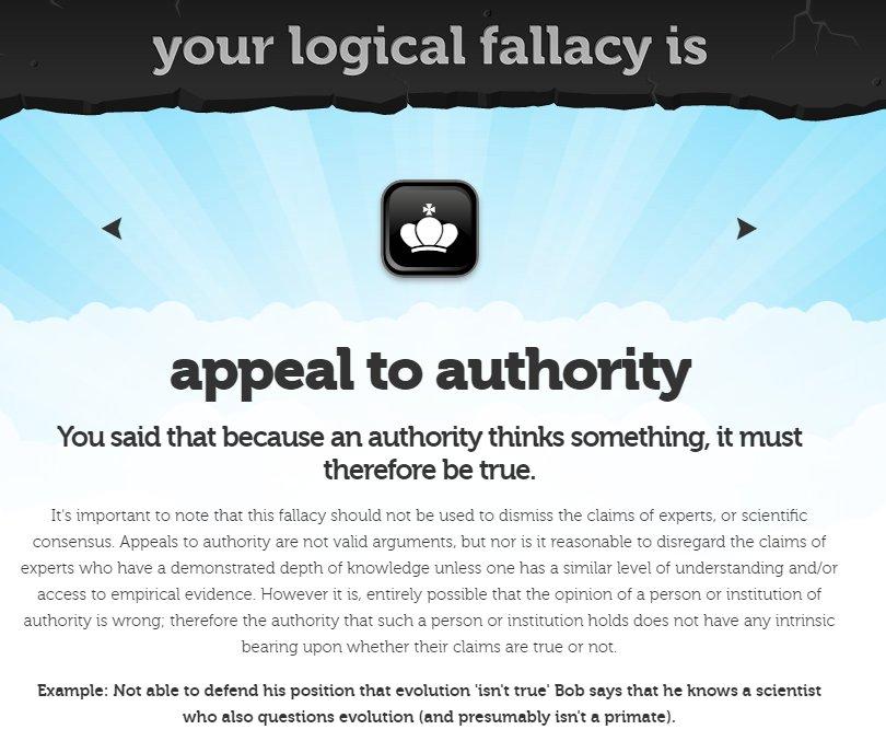 Joe Ward On Twitter Logical Fallacies Are Like Tricks Or