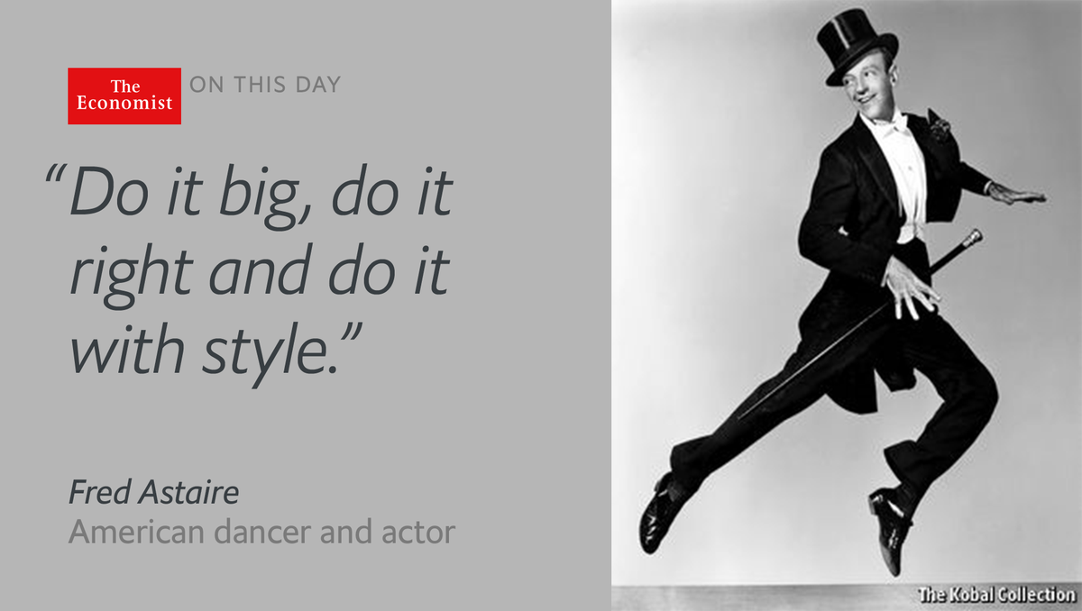Image result for fred astaire died in 1987