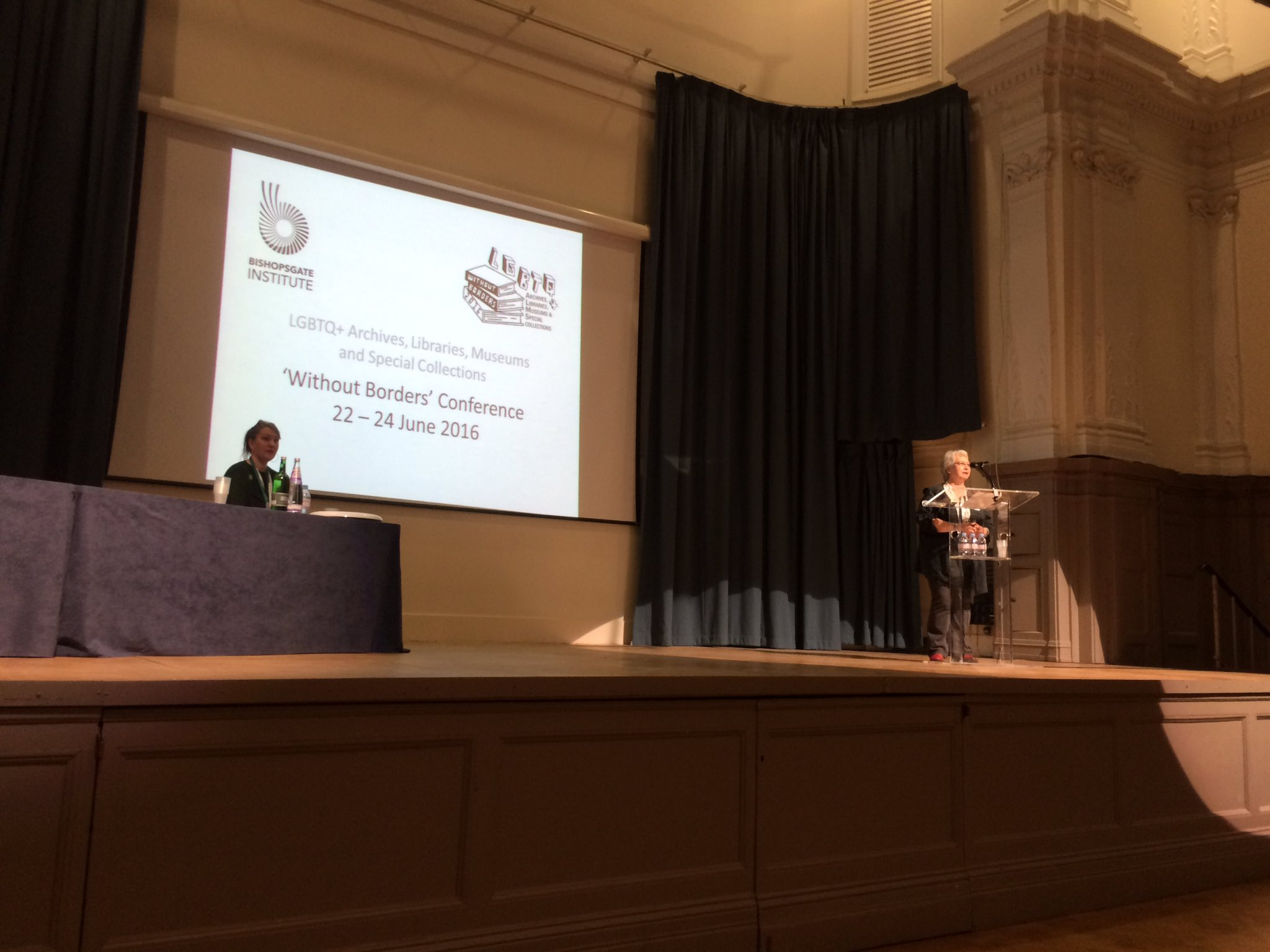 and we're off! #ALMS2016 opening address from @JanPimblett & @historitage at the @BishopsgateInst https://t.co/96xLEl8JQU