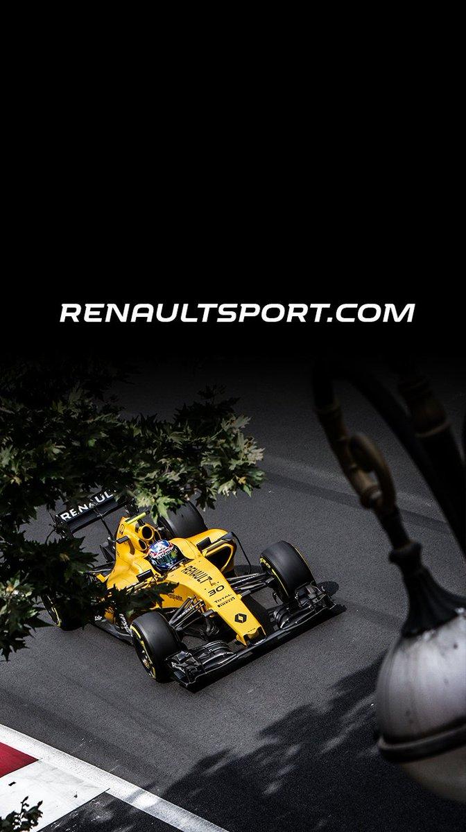 Crossline Renault Sport F1 Wallpaper