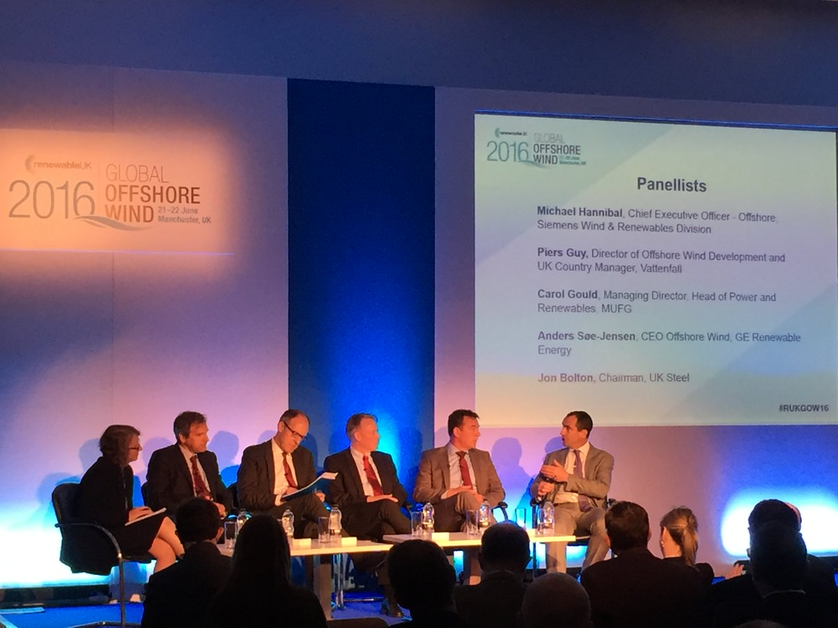 """Jon Bolton, from @EEF_UKSTEEL: """"In the next 5 yrs, demand for steel from UK offshore wind will be 2 million tonnes"""" https://t.co/wFeCLkEaD7"""