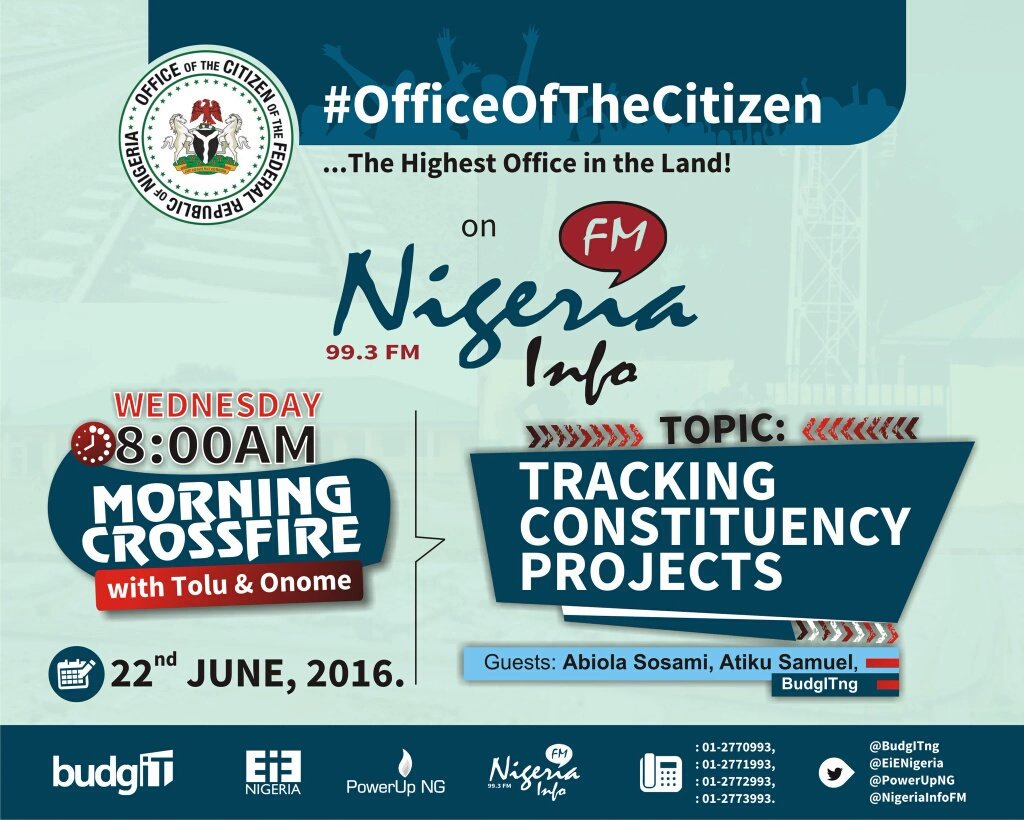 Thumbnail for #OfficeOfTheCitizen: Tracking Constituency Projects