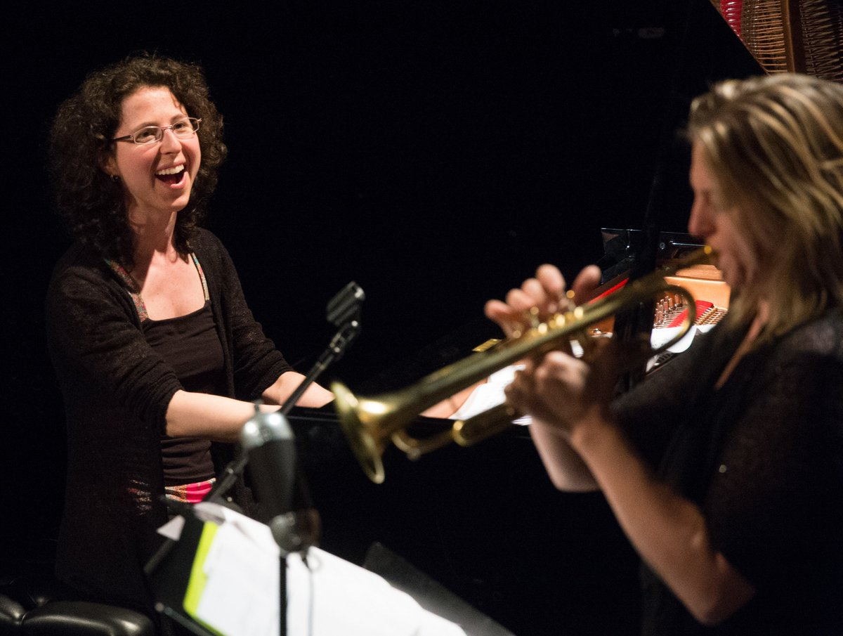 Marianne #Trudel Quartet feat. Ingrid #Jensen jazz show Wednesday night!Jun 22 #Nanaimo, BC Tickets $25 250-933-3338<br>http://pic.twitter.com/LwKFq5YGsi