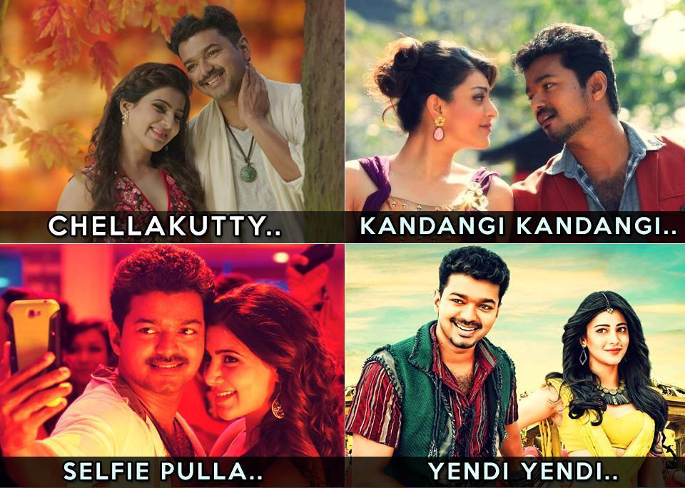 "Tamil Movies On Twitter: ""#HBDVijay Which Is Your Most"