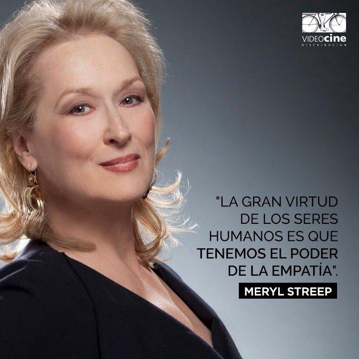 Videocine On Twitter Sabían Que Meryl Streep Es La Actriz