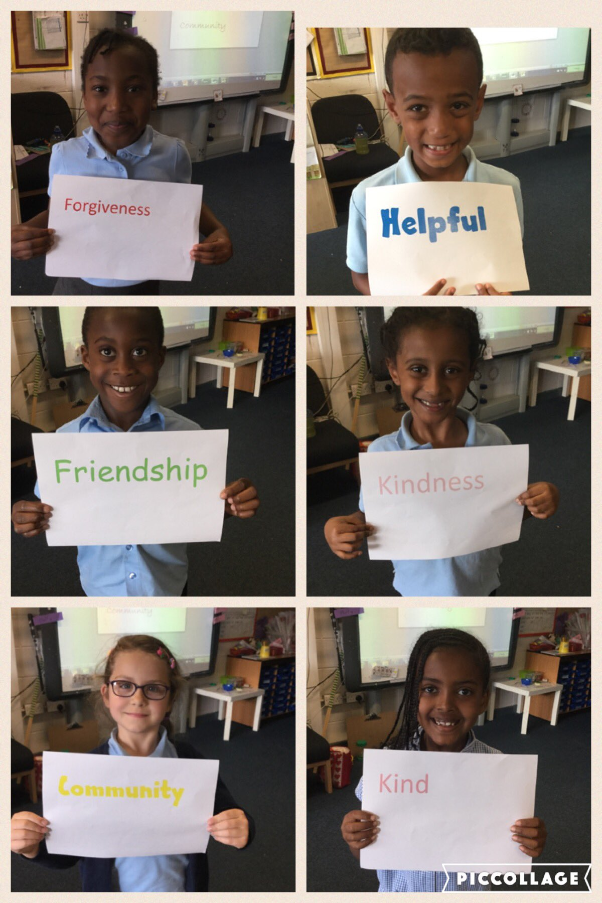 We've used the laptops with #missfranks to create our welcoming words for @RefugeeWeek #refugeeswelcomeSTC https://t.co/8ideS73tu3
