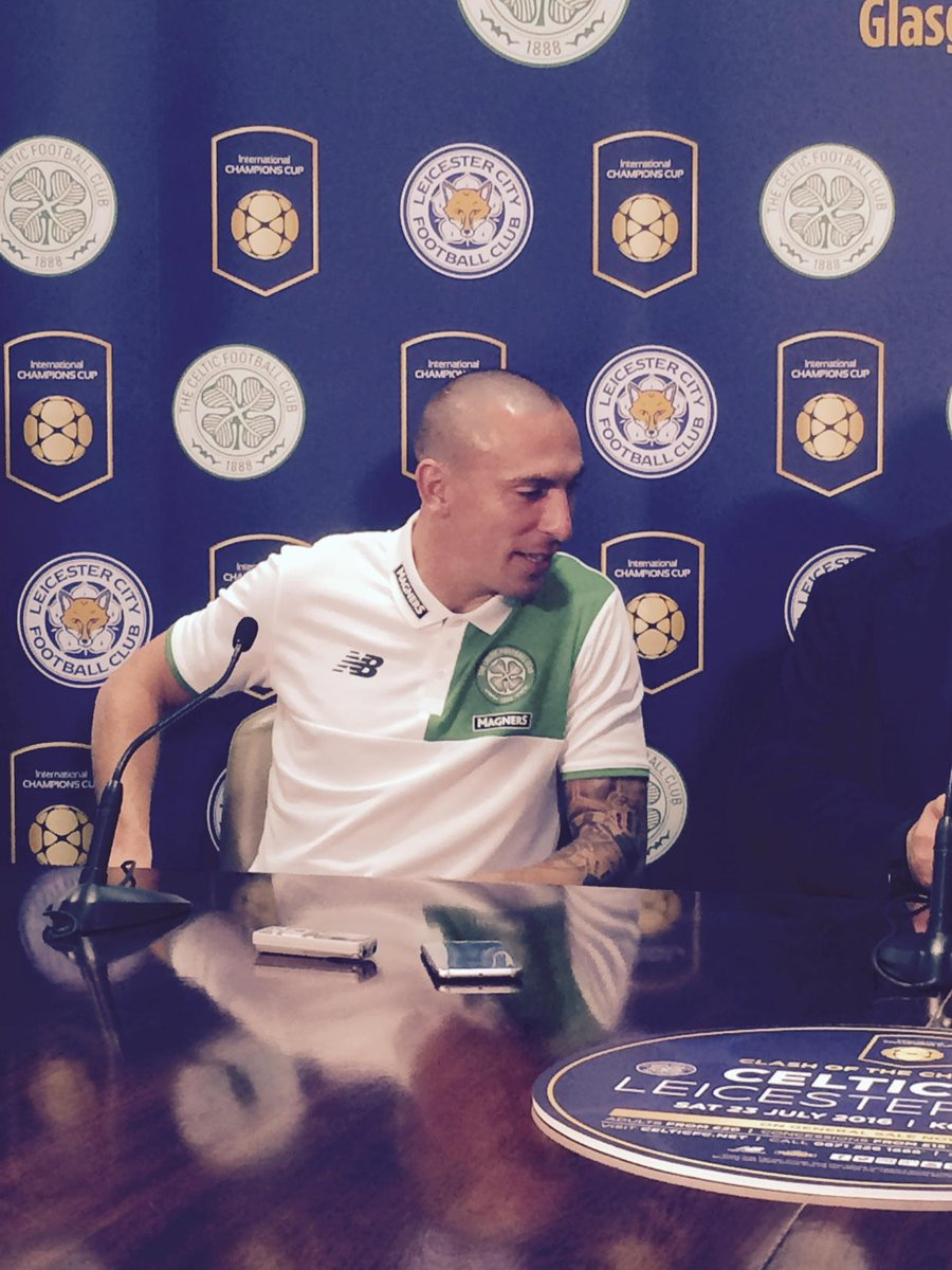 #Celtic Scott Brown says he'll get on well with @josephbarton because joey is a Celtic fan https://t.co/D2vqbc2Wed