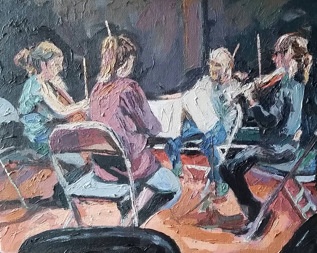 Wonderful sketches of ensemble360 at carlisles old fire station by marcer campbell very talented indeed pic twitter com ugy3e8yscz