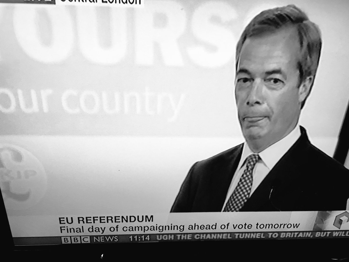 This nasty, racist little man is 1 of the worst things about Britain & 1 of many reasons why I'm pro-EU #VoteRemain https://t.co/ZKo1Fcb1rN