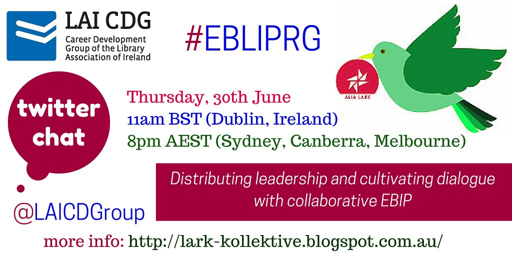 Official announcement! We will be hosting a #EBLIPRG chat on 30th June, 11am. More info: https://t.co/lIG85FrLXq https://t.co/0BQdTN0jGT