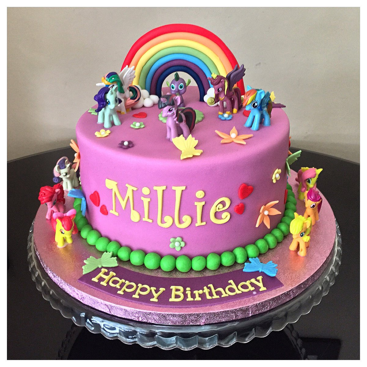 My Little Pony Birthday Cake.Marias Cake Boutique On Twitter My Little Pony Themed
