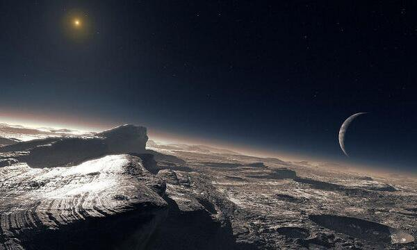 Once the Sun is a red giant, the distant ice world of Pluto will become a tropical oasis capable of supporting life.