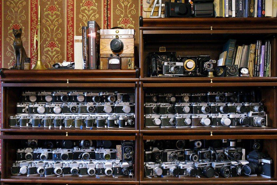 коллекционеры россии фотоаппаратов рулеты ветчины вовсе