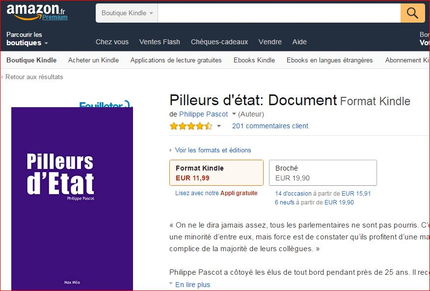 Philippe Pascot On Twitter Pilleurs D Etat Top 10
