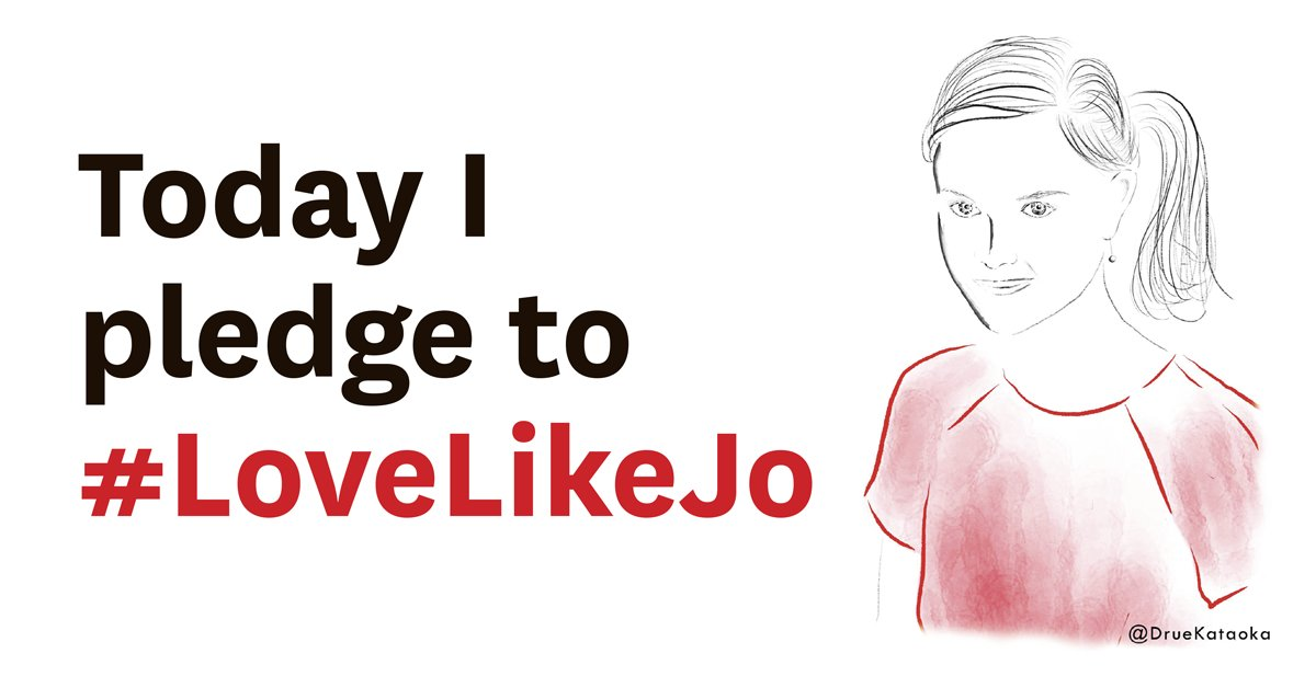 We pledge to #LoveLikeJo by continuing to encourage and support women in political and public life #moreincommon https://t.co/Z6yBFIK8ic