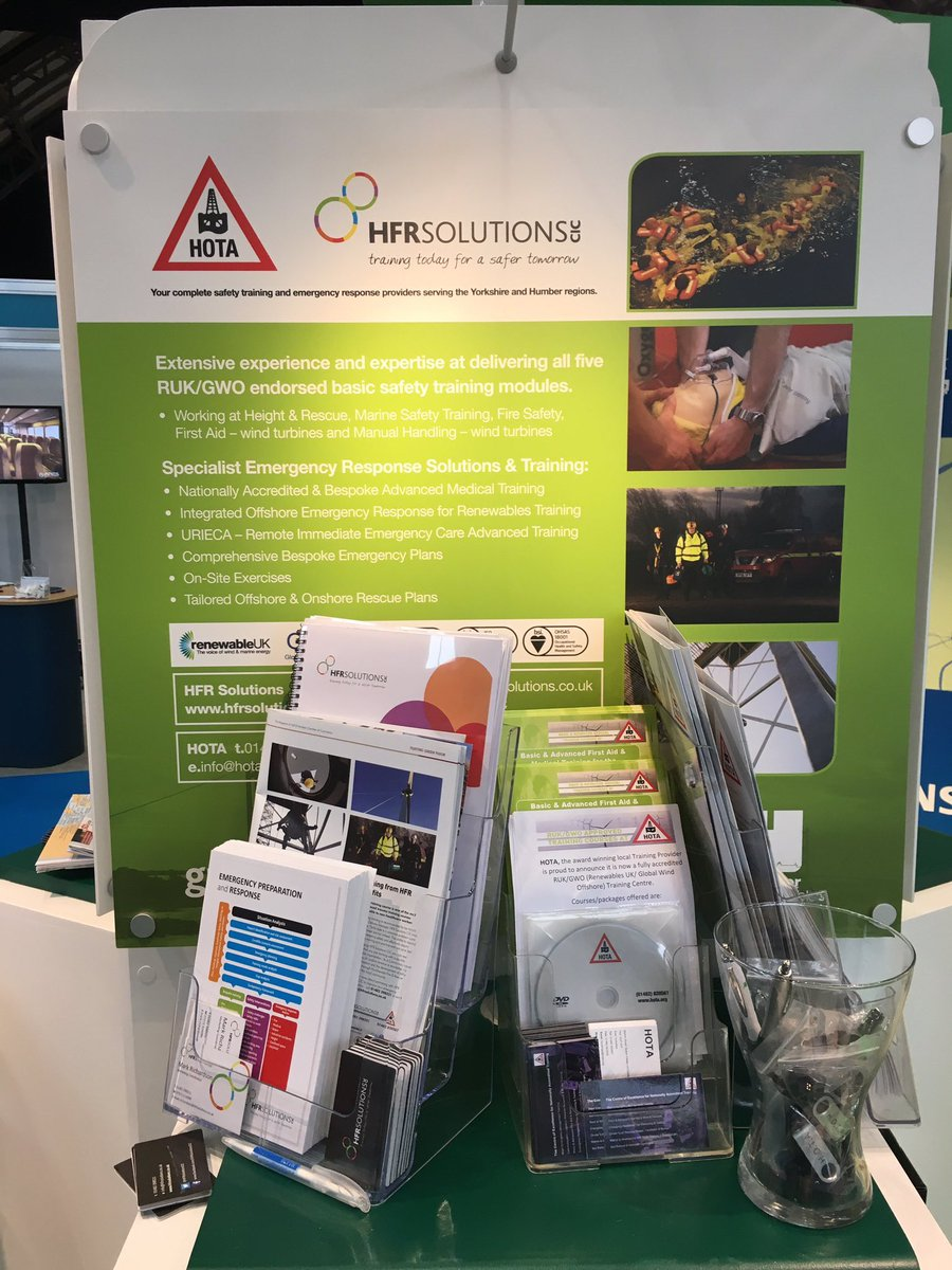 Come and say hello THMA stand (No 101) on Day 2 at the Global Offshore Wind Event #rukgow2016 #gow2016. https://t.co/bvFyDXrKjU