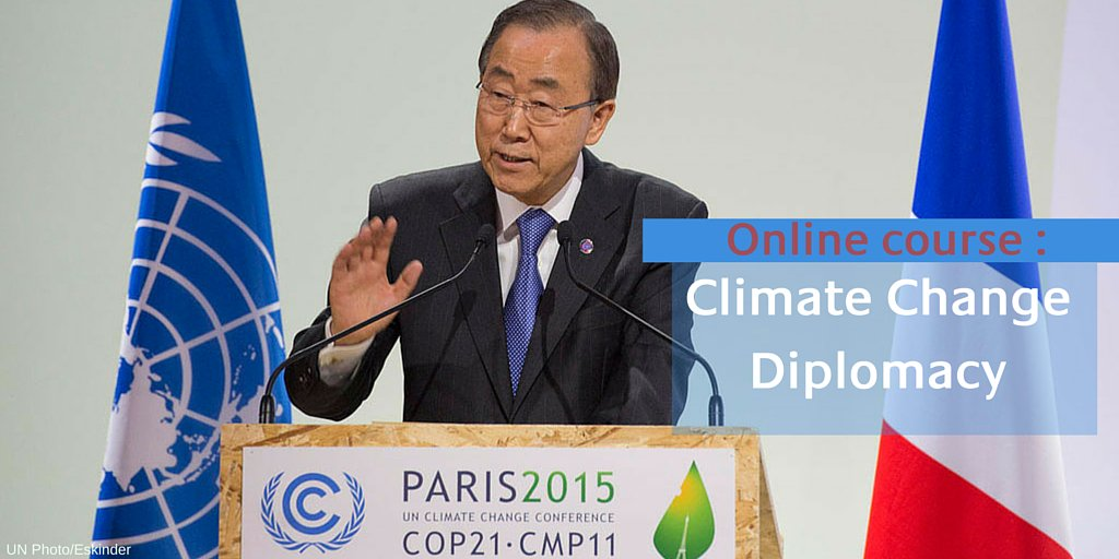 """There is no Plan B, because there is no Planet B""–Ban Ki-moon."