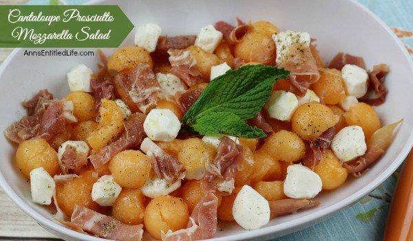 Cantaloupe Prosciutto Mozzarella Salad #Recipe https://t.co/VwMHQ0vxfP #summer https://t.co/r8nTmTadod