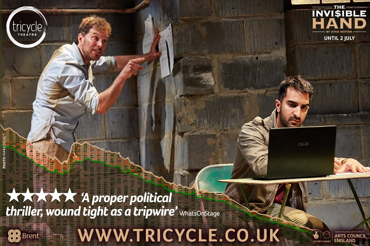 COMPETITION! Retweet to WIN 2 tix to the final #InvisibleHand show on Sat 2 July! Trailer: https://t.co/CUxa1nLOjH https://t.co/bhsZV7ZvFg