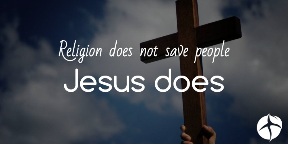 Christianity isn't a religion, it's a relationship with God through His Son Jesus Christ https://t.co/Inf1VkRWgn