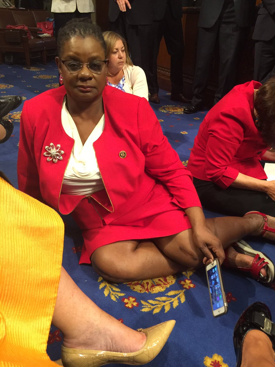 Americans deserve action to #EndGunViolence. I'm not moving until we get a vote to stop this epidemic #NoBillNoBreak https://t.co/ac2gpXdkb0