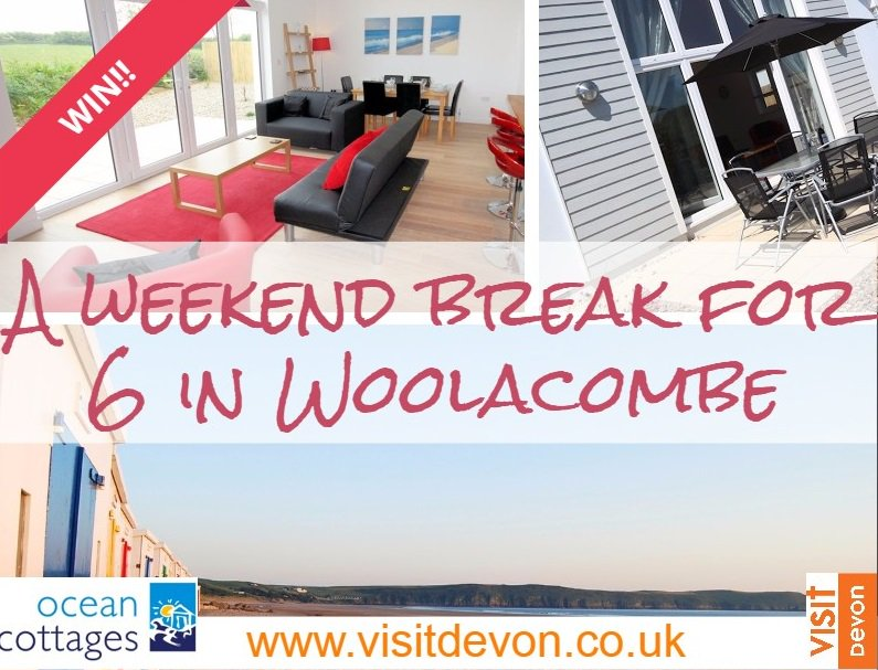 WIN a luxury stay for 6 - ends soon! RT to enter, find out more> https://t.co/TmeA743ixN @Ocean_Cottages https://t.co/gjPAIOnqko