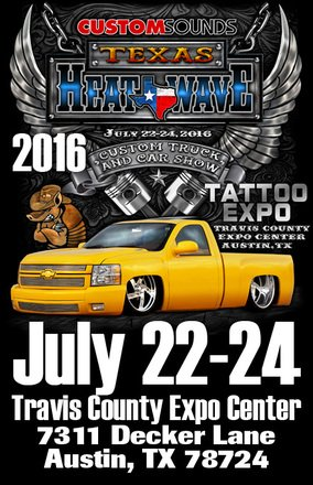 Travis County Expo On Twitter Custom Sounds Texas Heat Wave Show - Travis county expo center car show