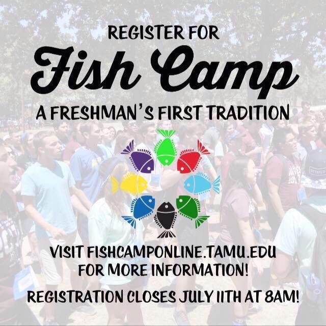 Registration has been EXTENDED to JULY 11th at 8 a.m.  Help spread the word, let's get #TAMU20 pumped for @TAMU https://t.co/xRBQnok7gj