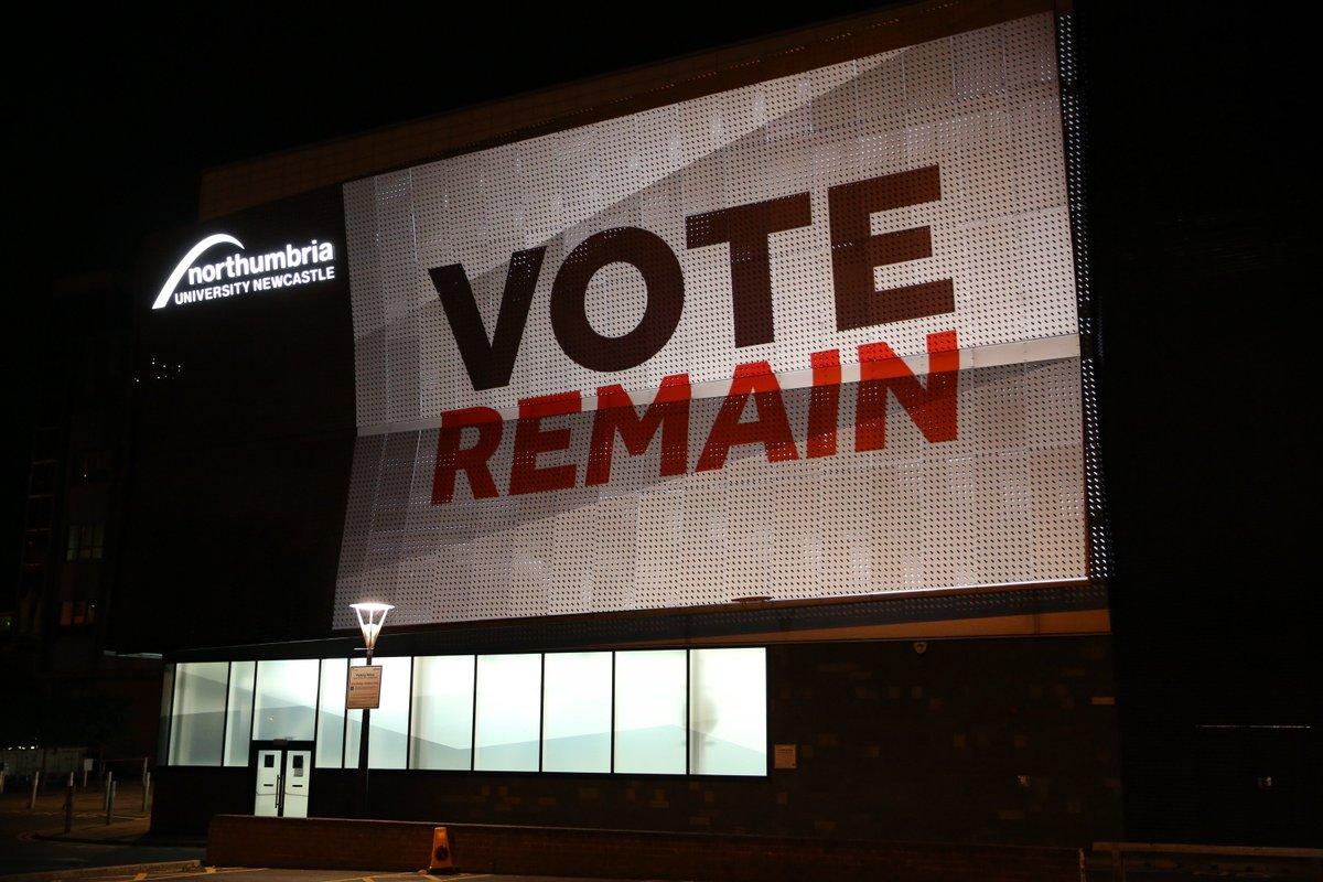Northumbria University and #EURef - our view: https://t.co/75k075vRtY #VoteRemain https://t.co/lEdCzQmPci