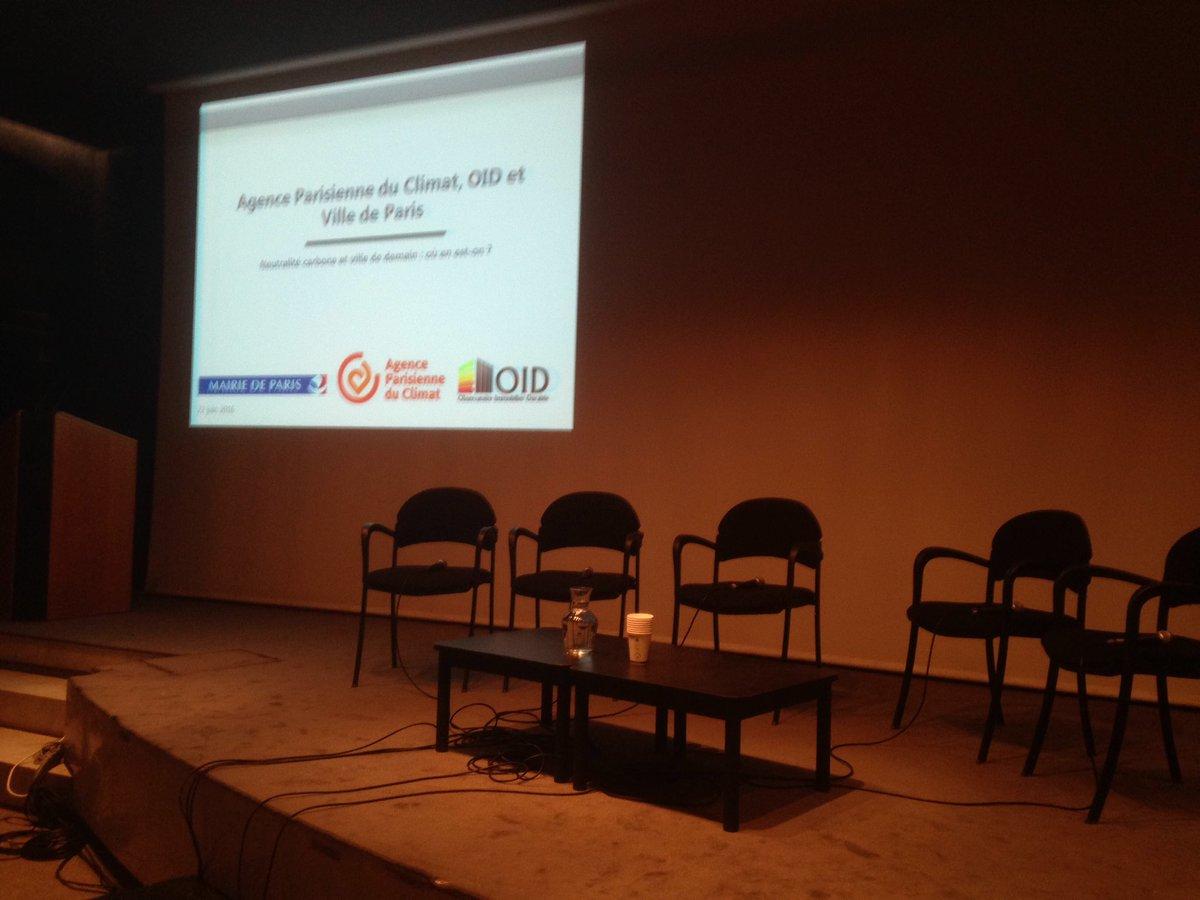 Thumbnail for Conférence OID, APC et Ville de Paris - Neutralité carbone et ville de demain