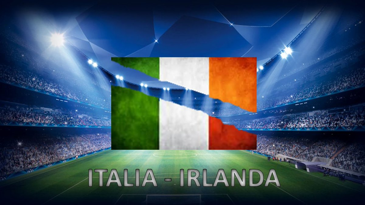 ITALIA IRLANDA in Diretta Video Streaming calcio sulla RAI