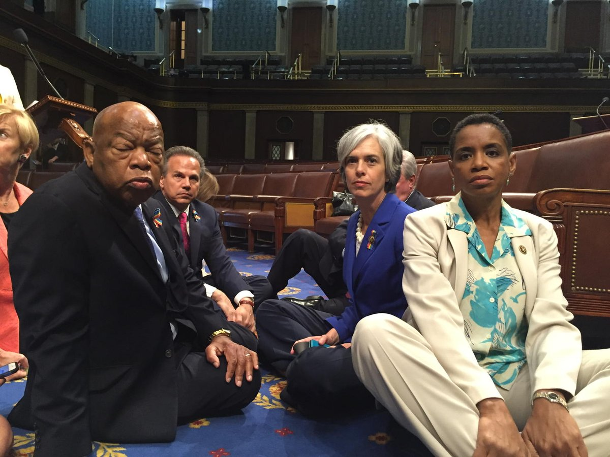 Time to occupy the House to demand action. #NoBillNoBreak #DisarmHate https://t.co/C7BZpzNvxL