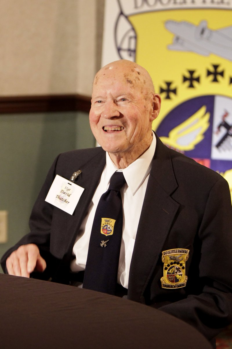 With great sadness we share news that #DoolittleRaider SSgt David Thatcher passed away this morning. https://t.co/Wdua8QJuoc