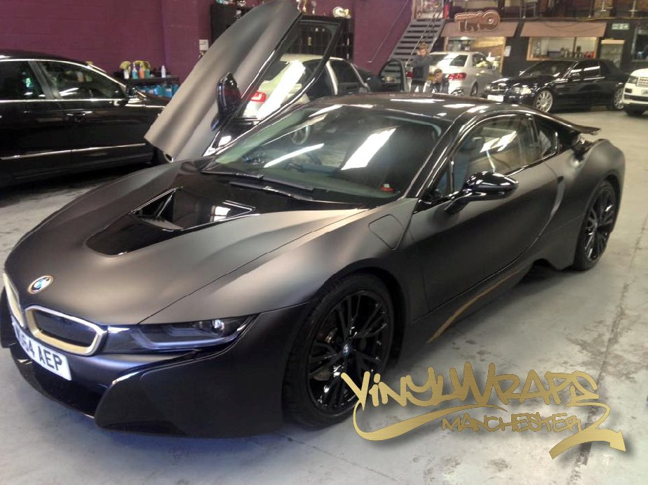 Vinylwrapsmanchester On Twitter Bmw I8 Vinyl Wrap Wrapping