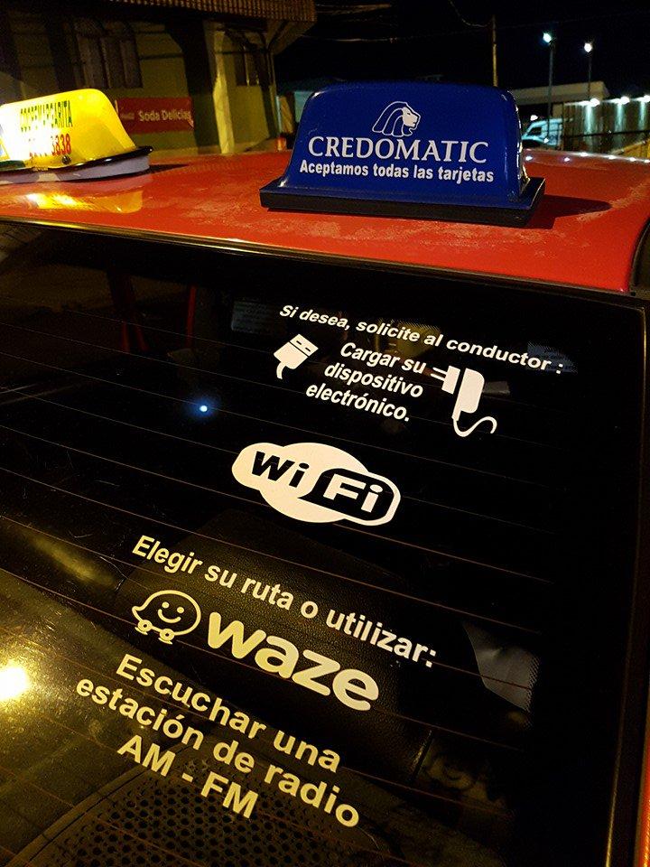 Visto en un taxi de Heredia. TH604. Vale que #UberCR solo problemas iba a traer... https://t.co/7S5eQqMxoa