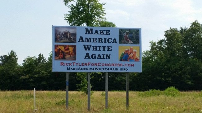 "Tennessee congressional hopeful posts ""Make America White Again"" board https://t.co/cOiTBW1ygu https://t.co/M7434QH2xm"