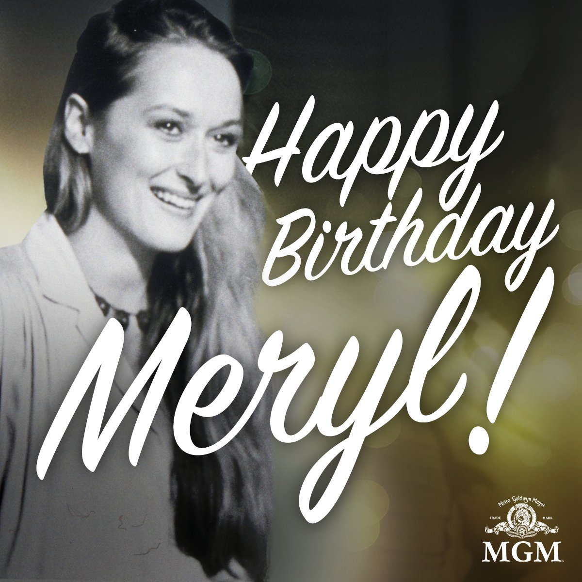 """I want to feel my life while I'm in it."" Happy Birthday to the incredible Meryl Streep! https://t.co/Ngquijux4Z"