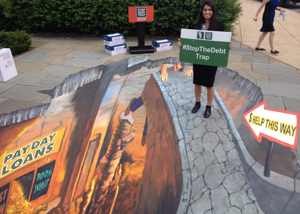 Sofia from Nevada tells the @CFPB and congress to #StopTheDebtTrap https://t.co/AMmitQh0R9 https://t.co/mwmeTunjug