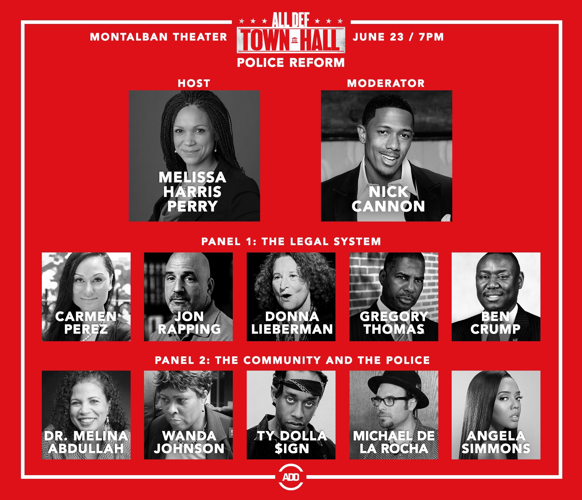 RT @UncleRUSH: LA join me at the #AllDefTownHall tomorrow for a chat on police reform.  RSVP: https://t.co/pNB82IHq6G https://t.co/VHoMCKJr…