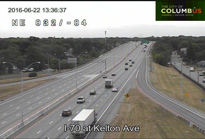 traffic update i-70 westbound is closed from 270 on the east