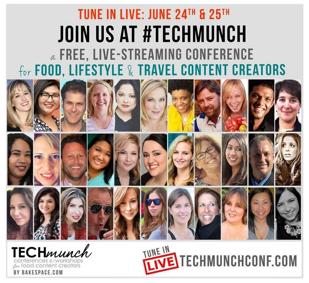 Tune-in this Friday & Saturday (June 24-25) – I'm speaking at the #TECHmunch Food & Lifest… https://t.co/vd1OVU1Wsr https://t.co/xzvP1elGt0