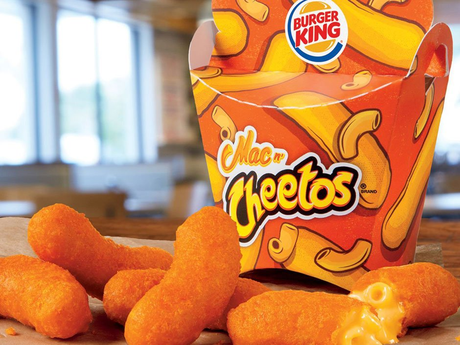 Burger King introduces Mac 'n Cheetos in U.S.: 'It's quite unique' https://t.co/DEg9Mr717E https://t.co/Ue1cNcjUpB
