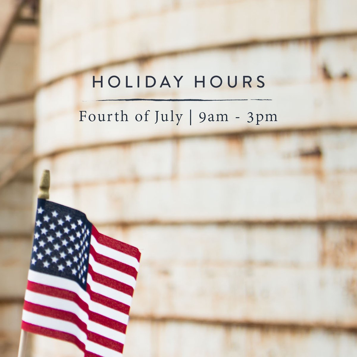 Magnolia On Twitter Our 4th Of July Hours Are Slightly Different