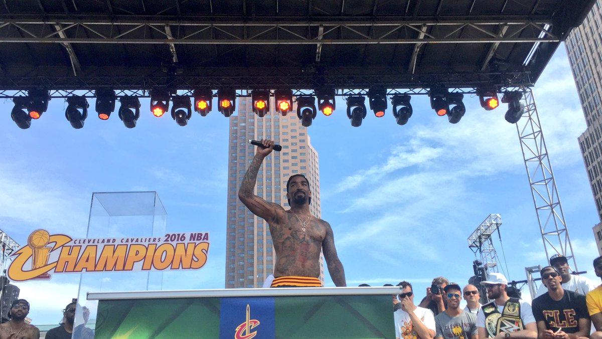 Everyone In Cleveland Plus Their Brother Showed Up For The Cavaliers Championship Parade